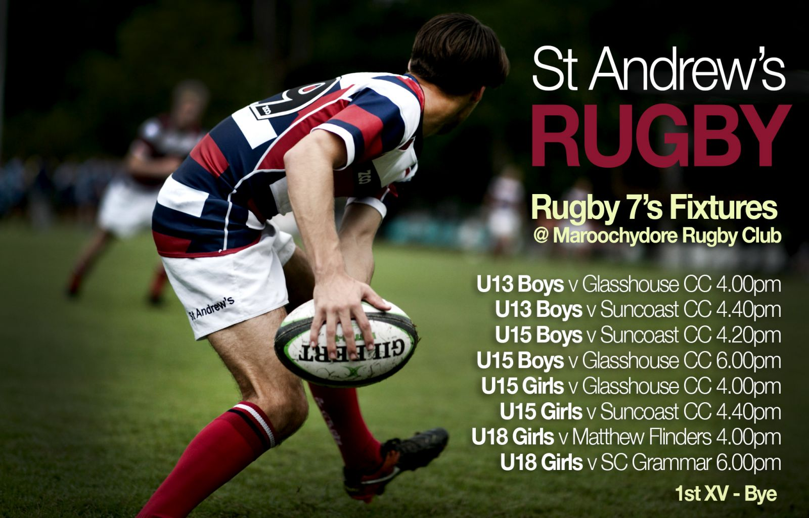 Sport Bulletin - Week 5 - Term 2   St Andrew's Anglican College