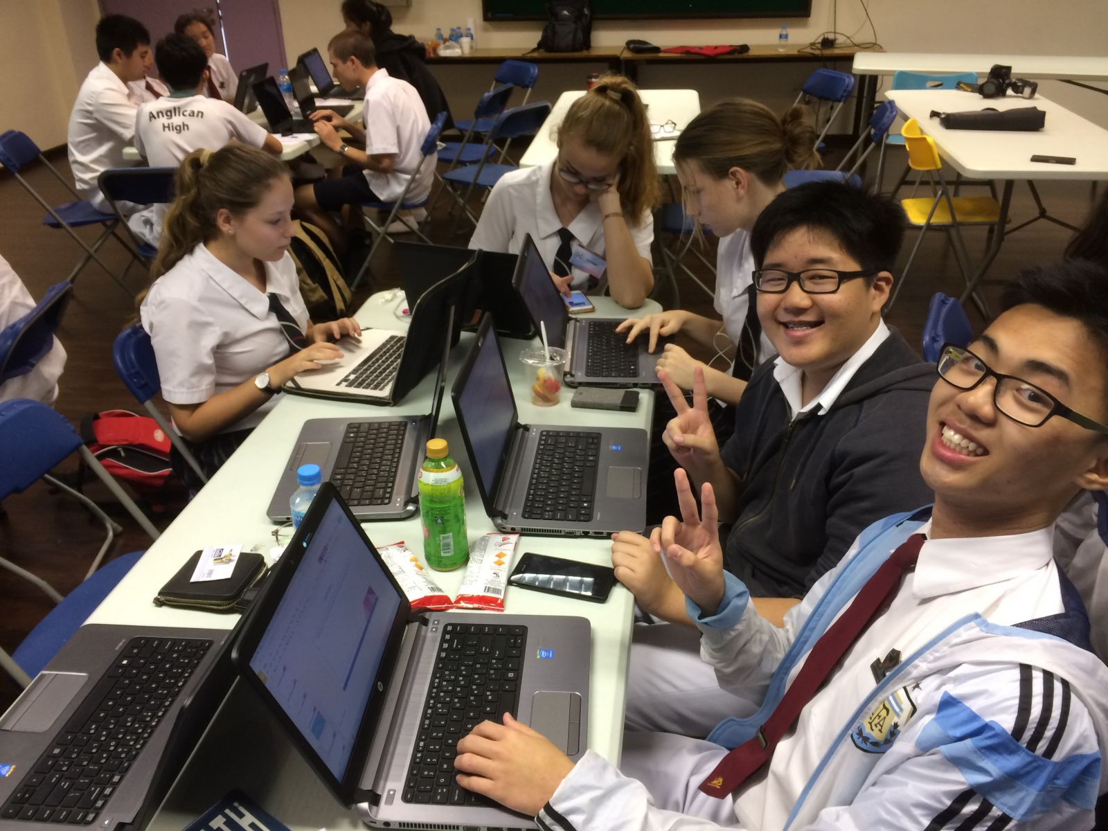 Collaborative Student Experience ~ Global collaboration st andrew s anglican college