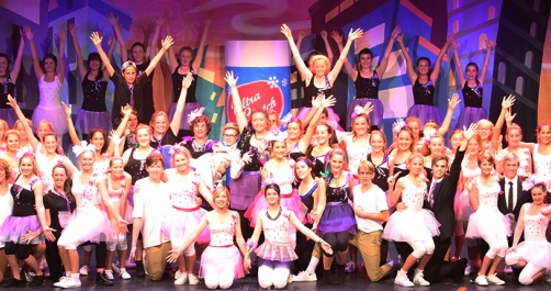 Secondary musical Hairspray 2014