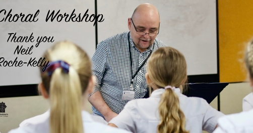Choral Workshop with Neil Roche-Kelly