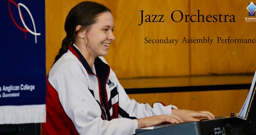 Jazz Orchestra Assembly Performance