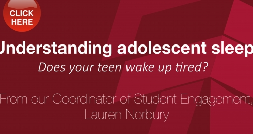 Understanding adolescent sleep