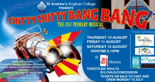 Chitty Chitty Bang Bang on sale soon