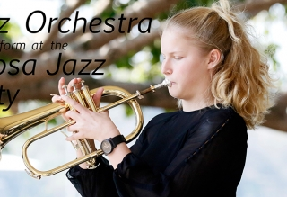 Jazz Orchestra perform at the Noosa Jazz Party