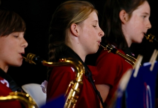 Music Ensembles perform at Grandparents & Special Friends' Day