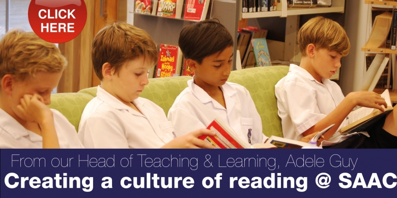 Creating a culture of reading