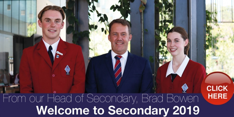 Welcome to Secondary 2019
