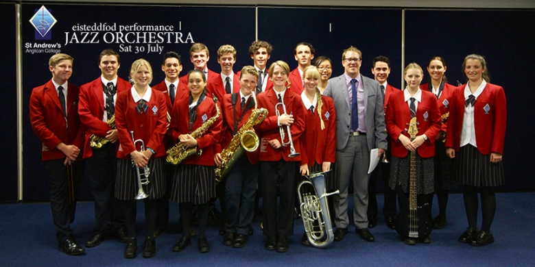 Jazz Orchestra perform at the Sunshine Coast Junior Eisteddfod
