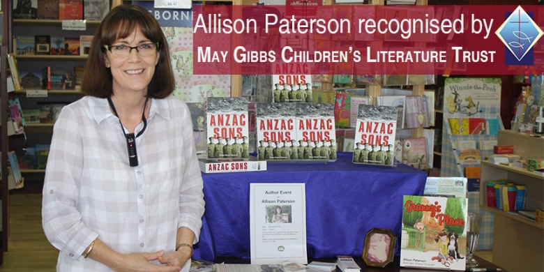 Allison Paterson Residential Fellow May Gibbs Children's Literature Trust 2016