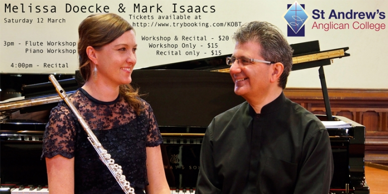 Melissa Doecke & Mark Isaac Workshops & Recital