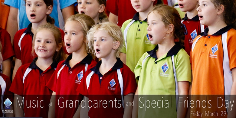 Music at Grandparents and Special Friends Day