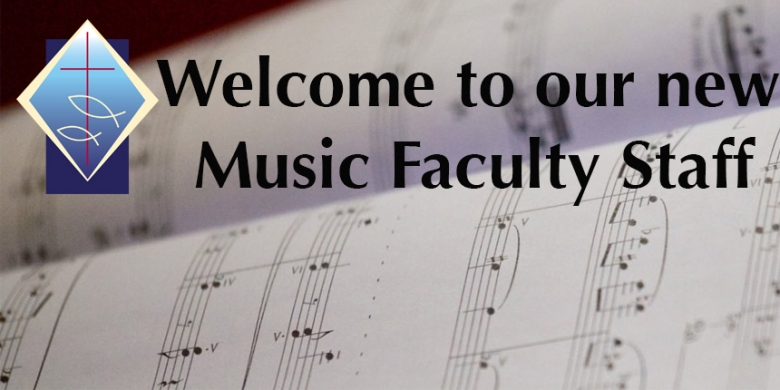 New Music Faculty Staff