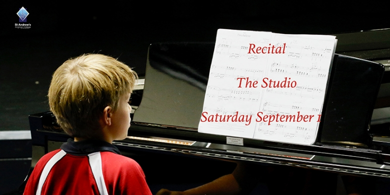 Recital Sat Sept 1st