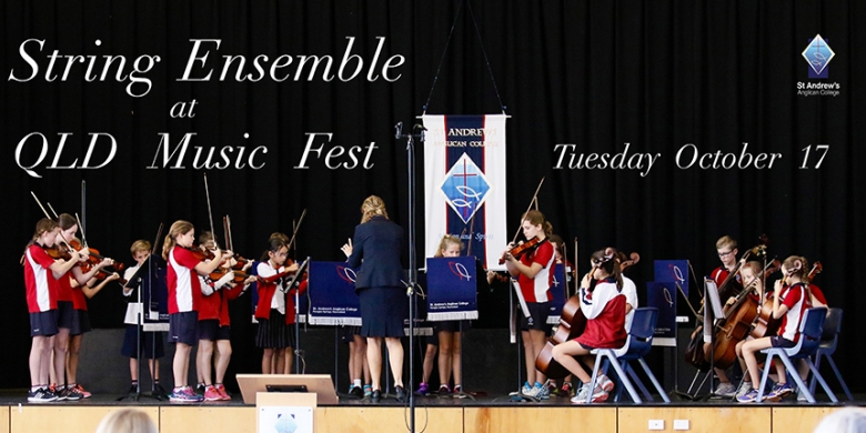 String Ensemble perform at Music Fest