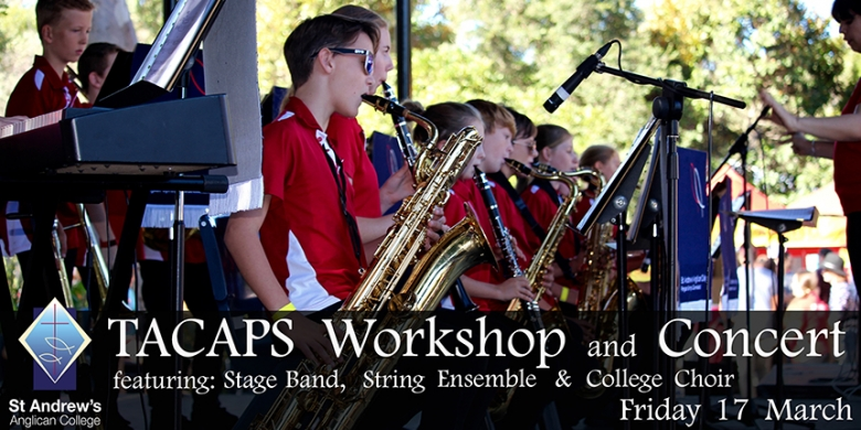 TACAPS Workshop and Concert