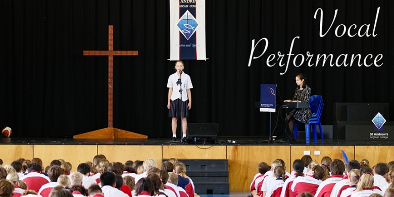 Vocal Performance at Secondary Assembly