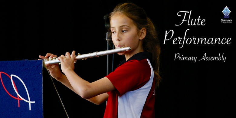 Flute Performance at Primary Assembly