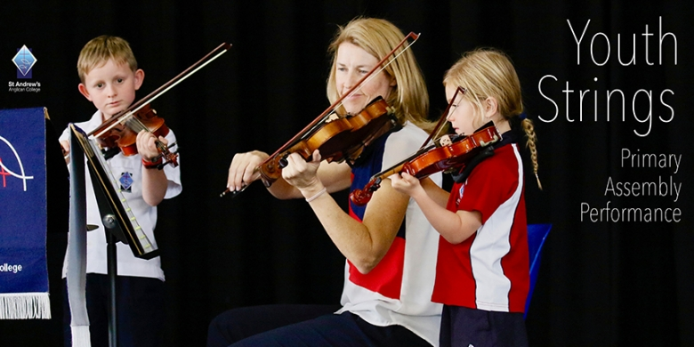 Youth Strings at Primary Assembly