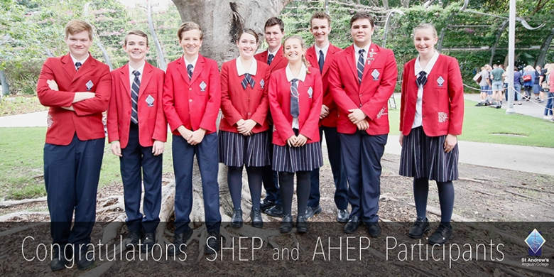 Students represent St Andrew's on the State and National Stage