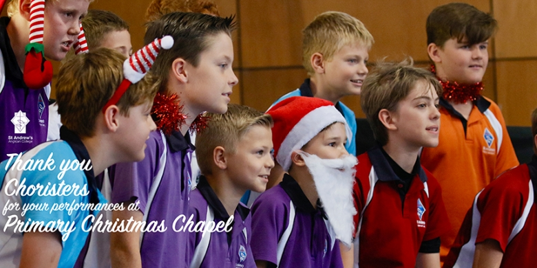 Music at Primary Christmas Chapel