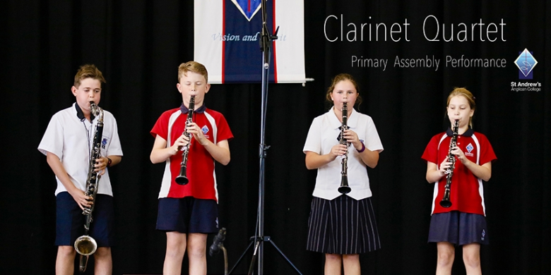 Clarinet Quartet Assembly Performance