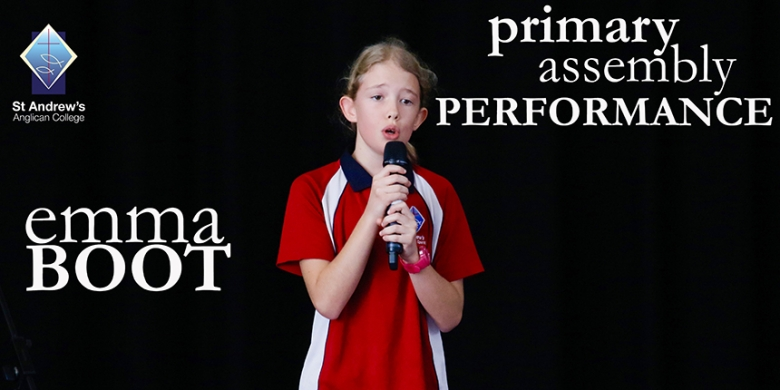 Emma Boot performs at Primary Assembly