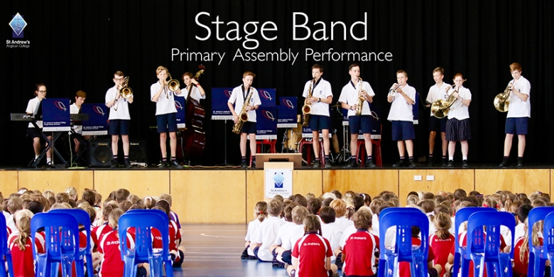 Stage Band Performance