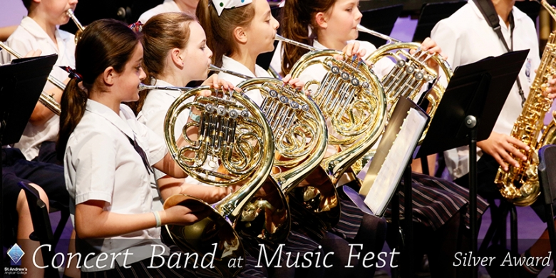 Concert Band at QLD Music Fest