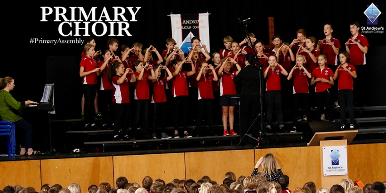Primary Choirs Performance