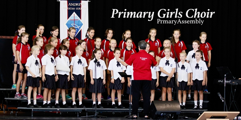 Primary Girls Choir perform at Primary Assembly