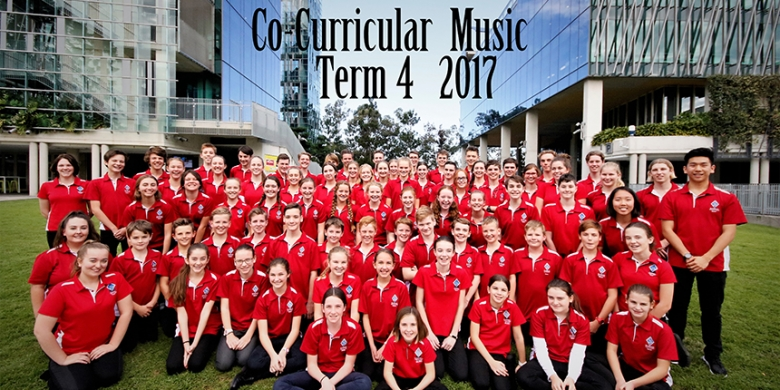 Co-Curricular Music Term Four
