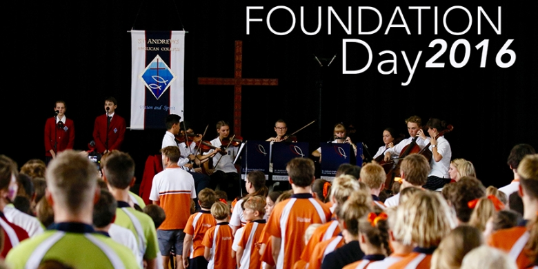 Musicians perform at Foundation Day