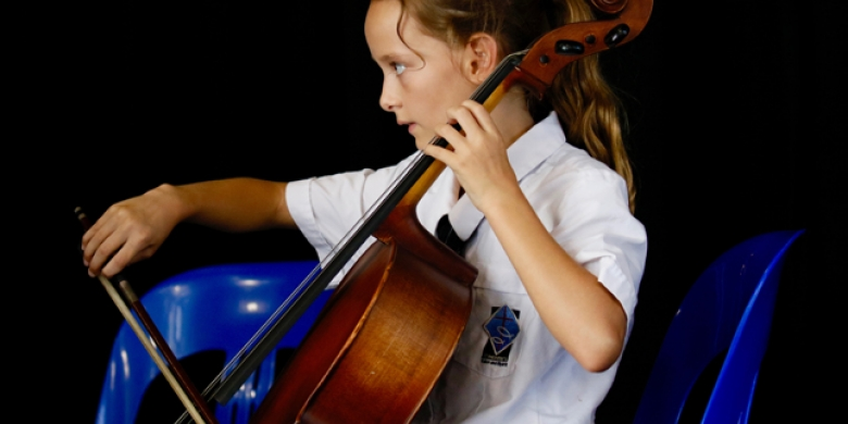 String Ensemble Performs at Primary Assembly