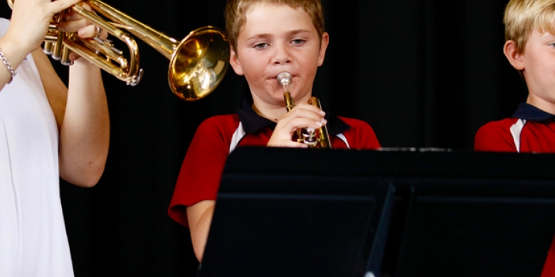 Year Five Trumpet Students Perform