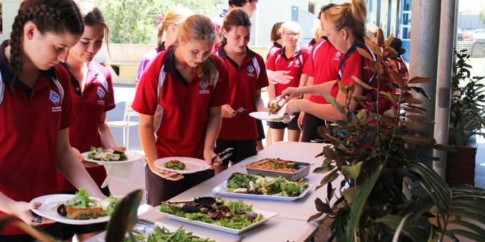 Sustainability Lunch Term 4 2016