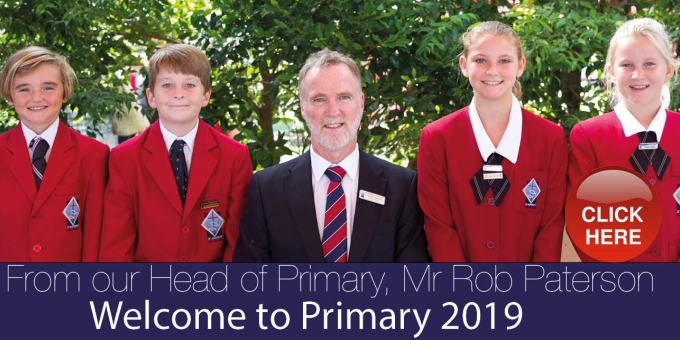 Welcome to Primary 2019