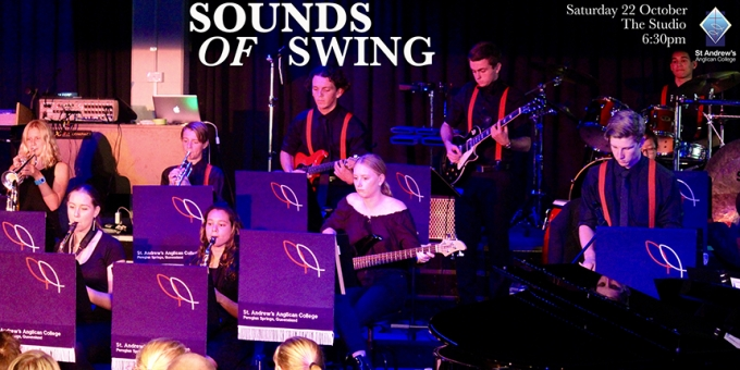 SPECIAL EVENT THIS SATURDAY - Sounds of Swing
