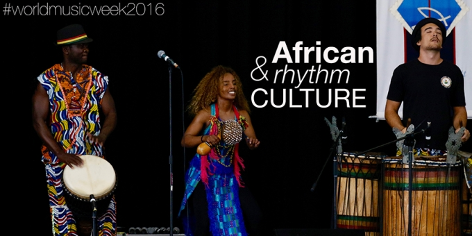 African Rhythm Culture Whole College Performance