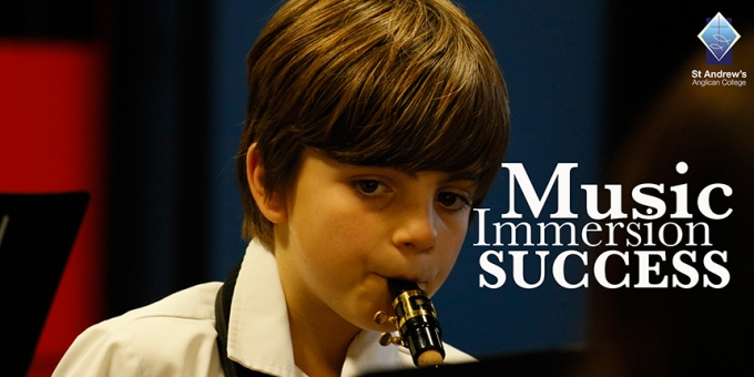 Year Five Music Immersion Concert