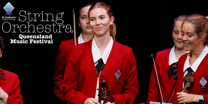 College String Orchestra impress Audiences.