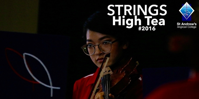 Students perform at annual Strings High Tea