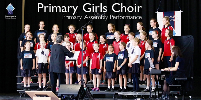 Primary Girls Choir Performance
