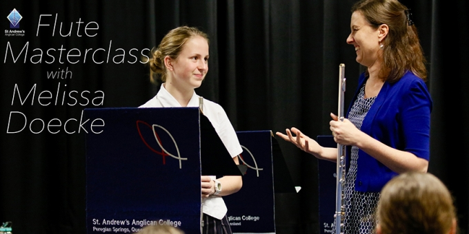 Flute Masterclass with Melissa Doecke