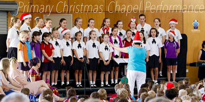 Primary Christmas Chapel Performance
