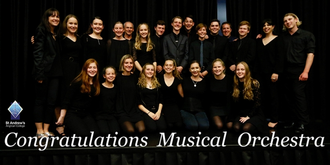 Congratulations Musical Orchestra