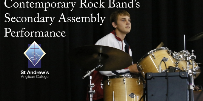 Contemporary Rock Band's Secondary Assembly Performance