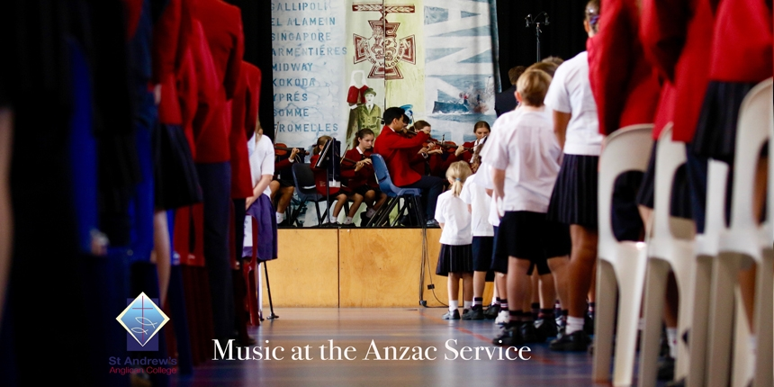 Music at the Anzac Service