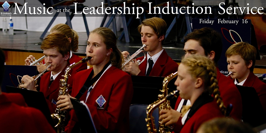 Music at the Leadership Induction Service