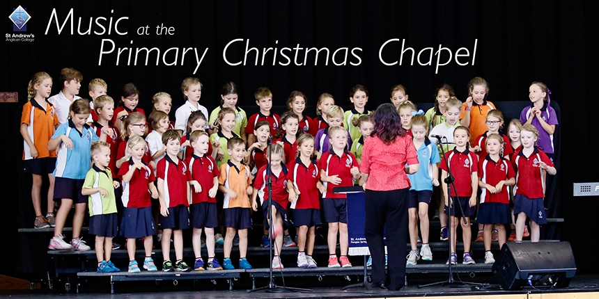 Music at Primary Christmas Chapel Web