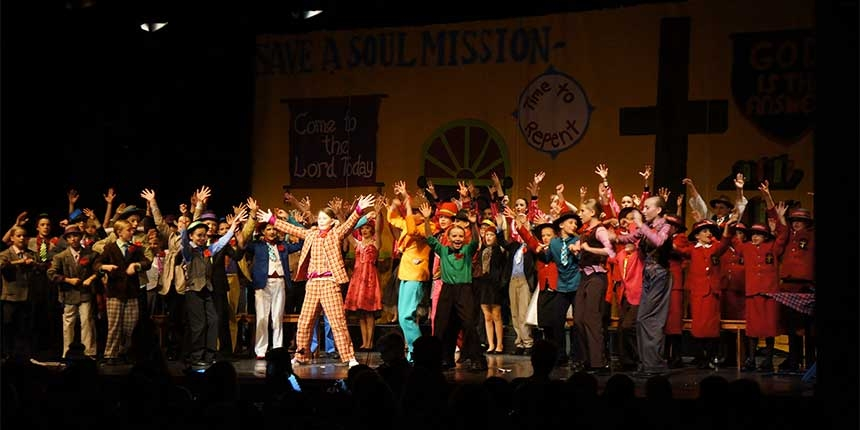 Primary Musical Guys n Dolls